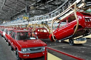 Yugo production at Zastava