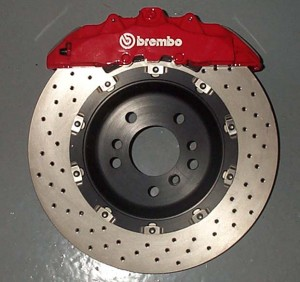 Brembo high-performance rotor and cailper