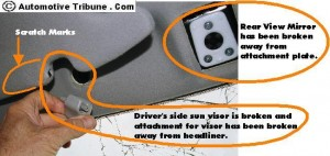 drivers-side-visor-damage