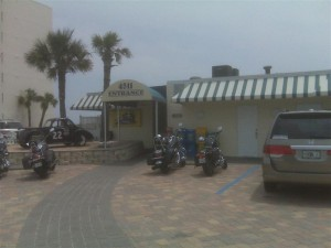 North Turn Restaurant Entrance