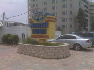 North Turn Restaurant Sign