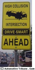 high-collision-intersection-ahead-sign