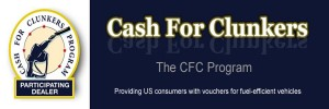Cash For Clunkers Banner