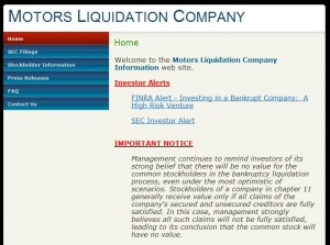 Motors Liquidation A