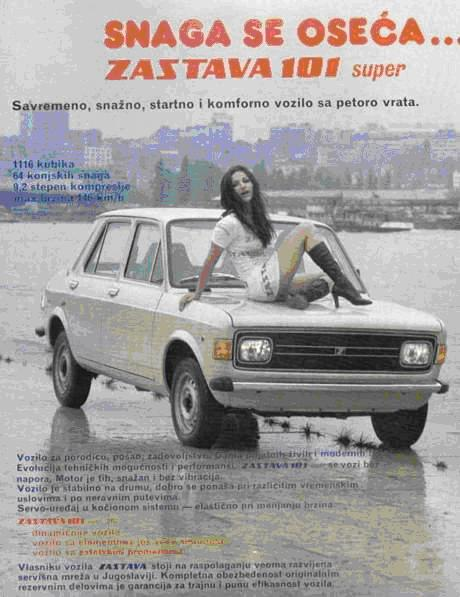 Zastava 101 Advertising Photograph