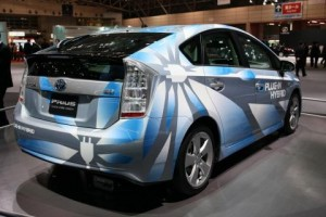 Toyota Prius Plug In Hybrid Concept at the Tokyo Motor Show -- meida photo compliments of Toyota